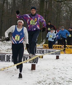 Zimní běh Bělským lesem
